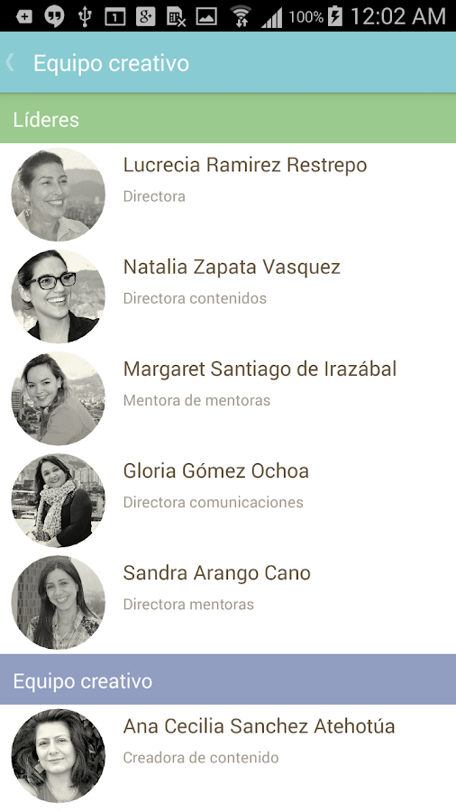 Mujeres Digitales- screenshot