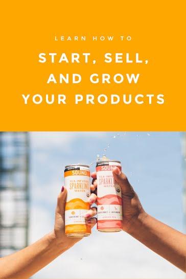 Start Sell Grow - Pinterest Pin template