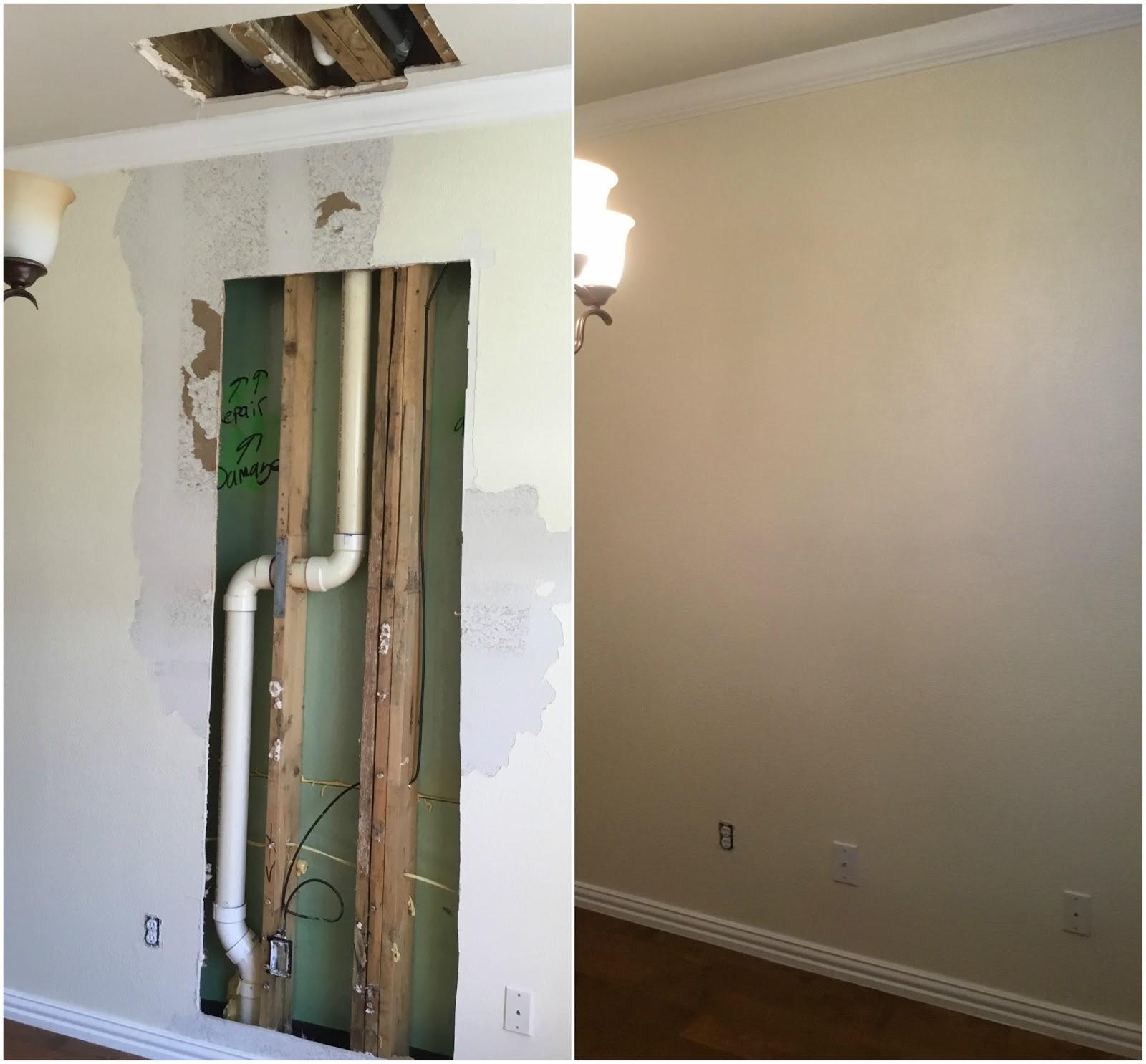 Handyman Allen drywall repair.
