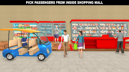 Shopping Mall Rush Taxi: City Driver Simulator 1.1 screenshot 2093865