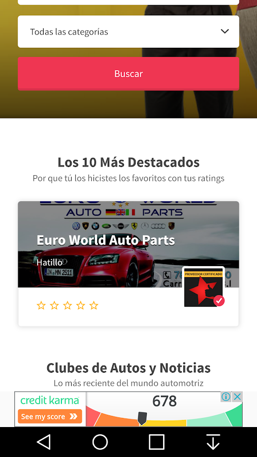 Auto Rating - Puerto Rico- screenshot