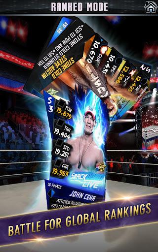 WWE SuperCard – Multiplayer Card Battle Game screenshot 3
