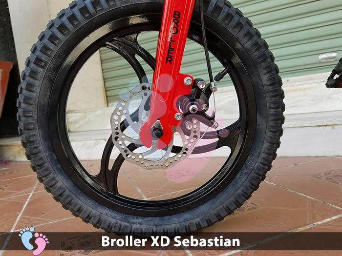 Xe đạp cho bé Broller XD Sebastian 13