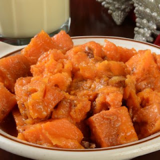 Pumpkin and Coconut Sweet Potato Casserole.