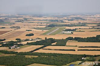 Photo: Randers Flyveplads i sikte.