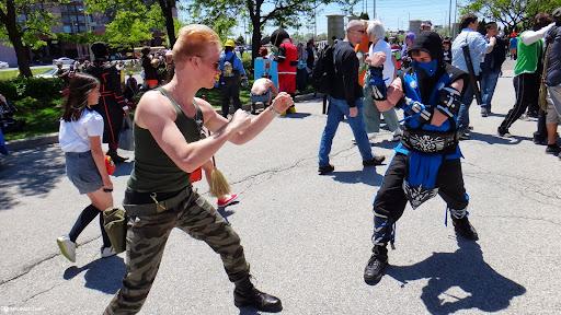 GUILE vs SUBZERO in Toronto, Ontario, Canada