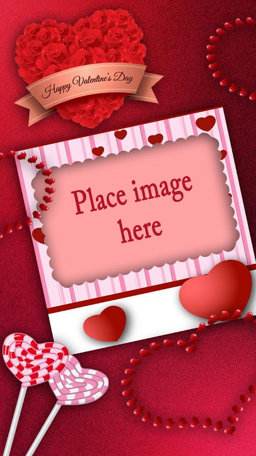 valentines day picture frames screenshot