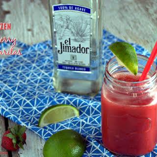 Easy Frozen Strawberry Margarita.
