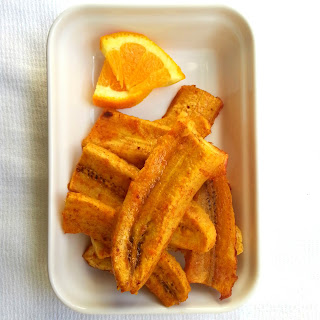 Baked Orange Plantains