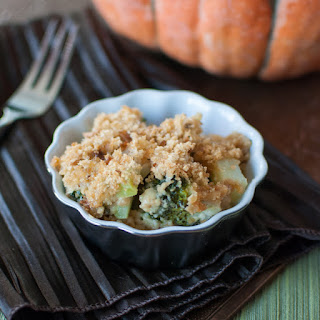 Broccoli Cheese Casserole - A Makeover for a Thanksgiving Staple