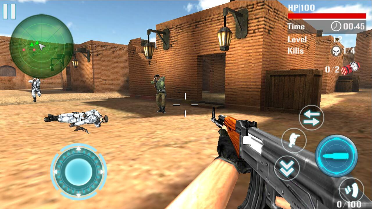 Counter Terrorist Attack Death- screenshot