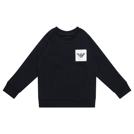 Primary image of Emporio Armani Logo Patch Sweatshirt