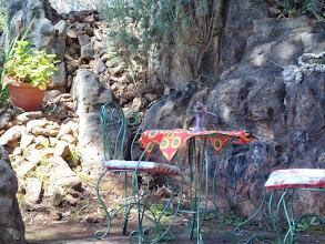 Photo: A table for two - en kyk daai stoele ek se!
