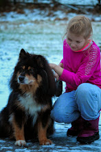 Photo: Jenna ja Sirpan koira Pietu