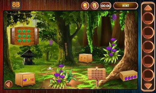 8b Mushroom Hut Escape - náhled