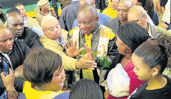Cyril Ramaphosa On Nelson Mandela Bay Charm Offensive