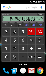 RealCalc Plus Screenshot