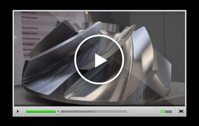VISI - 5-осевая обработка детали на станке Nikken