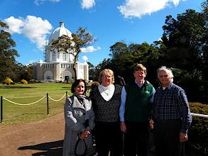 Photo: Bryn Sherna and the Badiyan seniors  at the Bahá'í Temple