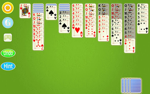 Spider Solitaire Mobile  screenshots 12