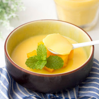 Mango Pudding Dessert Recipes.