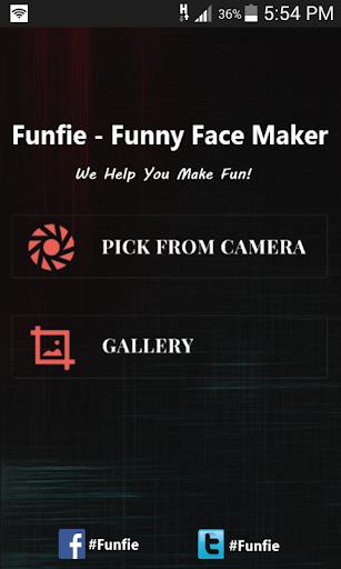 Funfie - funny face maker