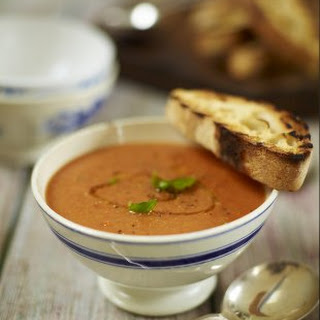 Roast Tomato And Bread Soup.