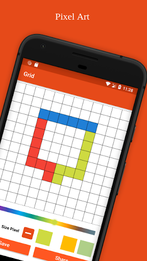 Grid Drawing ( Pixel Art ) 16.1.4 Screenshots 5