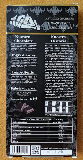 72% churreira bar