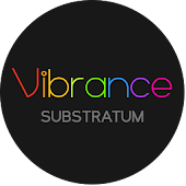 Vibrance Substratum Theme (Oreo supported)