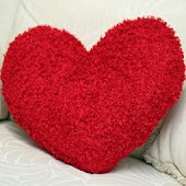 Make a Colorful Heart Pillow