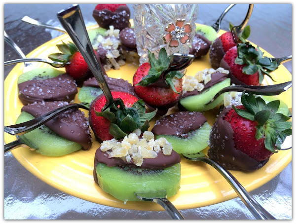 Chocolate Kiwi Pops Recipe
