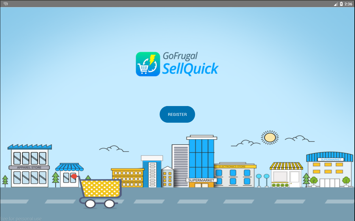 SellQuick - Retail POS for Tab- screenshot