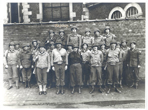 Photo: Dad is top row, second from the left