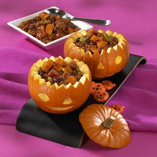Pumpkin Chilli Con Carne.