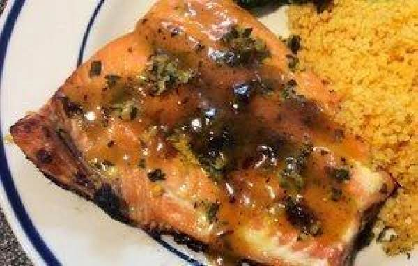 Salmon With Citrus-mint Gremolata