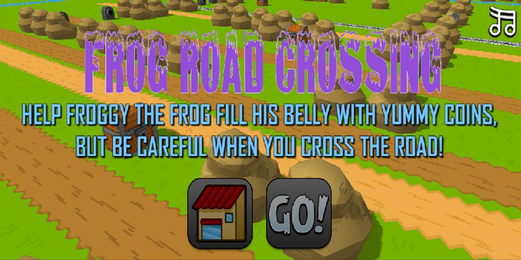 Game Frog Crossing Road