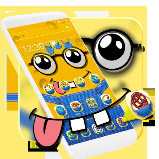 Yellow Cute Cartoon Theme