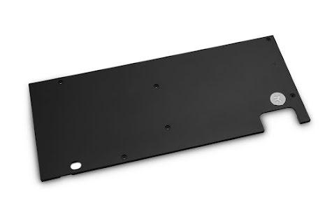 EK bakplate, EK-Quantum Vector Strix RX 5700 +XT Backplate - Black