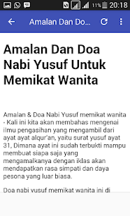 Amalan Nabi Yusuf : amalan, yusuf, Download, AMALAN, YUSUF, Windows, Books, Reference, Android