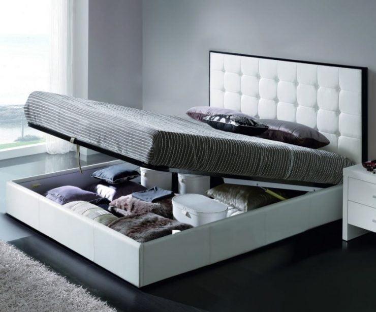 Вариант кровати с подъемным механизмом