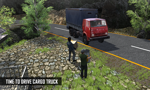 Off Road Cargo Truck Driver