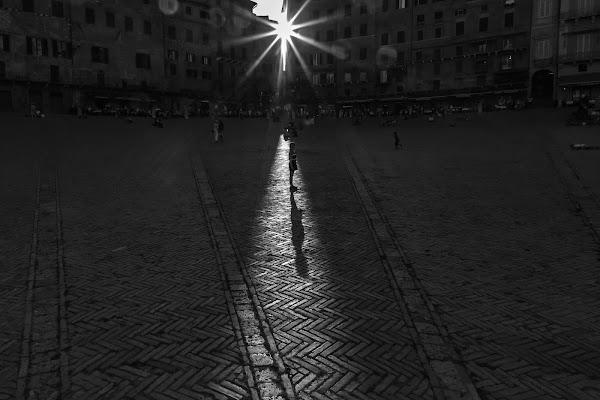 Bimba in Piazza del Campo di MarcoM80