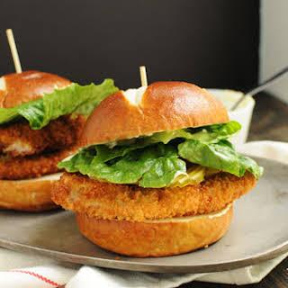 Extra Crispy Pork Cutlet Sandwich.