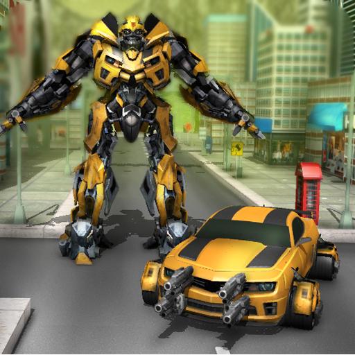Futuristic Robot Car Fighting 動作 App LOGO-硬是要APP