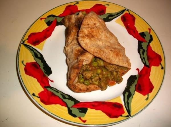 Indian Turkey Samosa Wraps Recipe