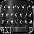 Cool Black Metal Keyboard Background
