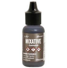 Tim Holtz Alcohol Ink Mixative 14ml - Gunmetal