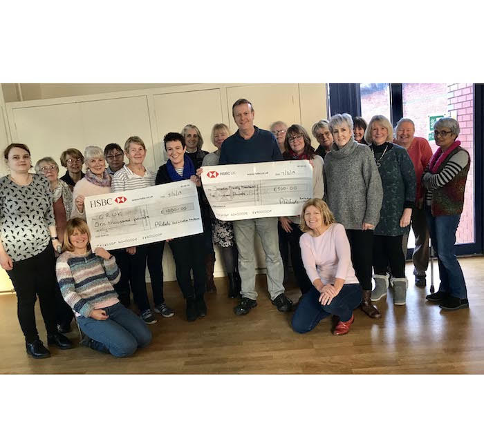 Knit and Natterers raise £1,500 for charity