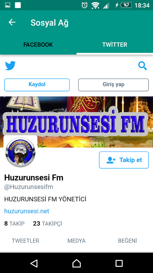 Huzurunsesi- screenshot